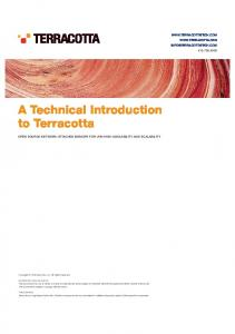 A Technical Introduction to Terracotta