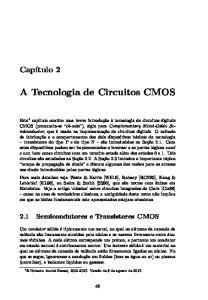 A Tecnologia de Circuitos CMOS