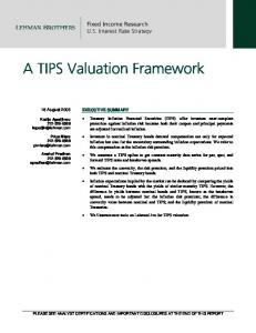 A TIPS Valuation Framework