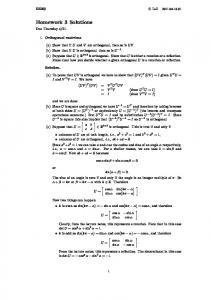 (a) To prove that UV is orthogonal we have to show that (UV) T (UV) = I given U T U = I and V T V = I. We have