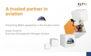 A trusted partner in aviation