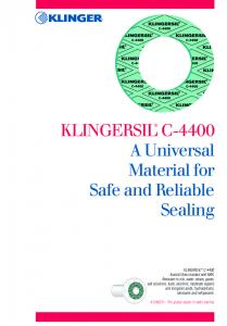 A Universal Material for Safe and Reliable Sealing