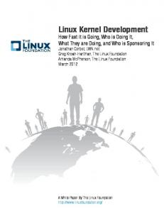 A White Paper By The Linux Foundation