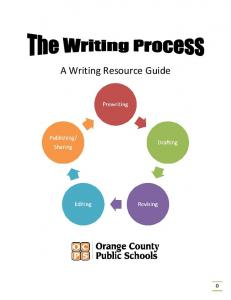A Writing Resource Guide