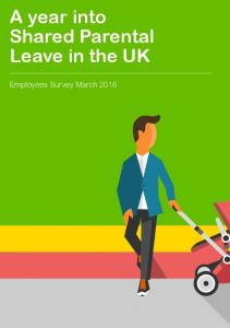 A year into. Shared Parental Leave in the UK. Employees Survey March Shared Parental Leave Report