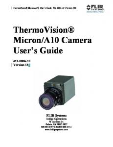 A10 Camera User s Guide