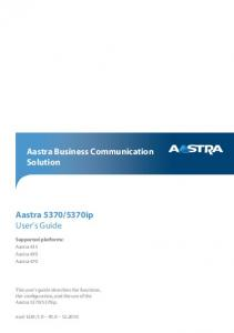 Aastra Business Communication Solution