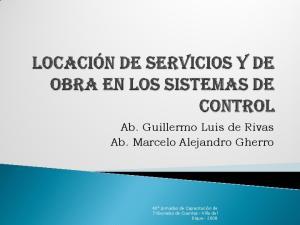 Ab. Guillermo Luis de Rivas Ab. Marcelo Alejandro Gherro