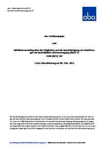 aba-positionspapier zum