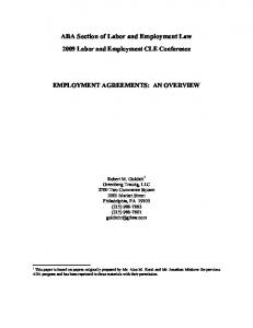 ABA Section of Labor and Employment Law