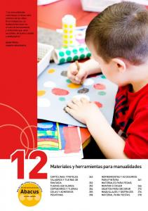 Abacus. y herramientas para manualidades CARTULINAS Y PAPELES 343