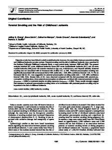 Abbreviations: ALL, acute lymphoblastic leukemia; AML, acute myeloid leukemia; CI, confidence interval; OR, odds ratio