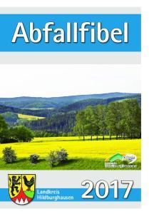 Abfallfibel. Landkreis Hildburghausen