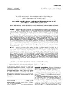 ABLACION DEL NODULO ATRIOVENTRICULAR CON DESCARGA DE CONDENSADORES Y RADIOFRECUENCIA