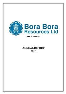 ABN ANNUAL REPORT 2016