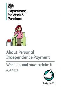 About Personal Independence Payment. What it is and how to claim it