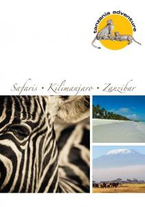 About Tanzania. We are dedicated to organize your personal Tanzania Safari. Content ABOUT TANZANIA. About Tanzania 3. Tanzanian Safaris 4