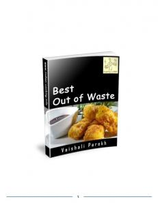 About the Author. Best Out of Waste