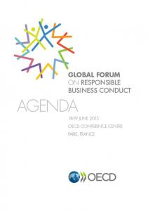 About the OECD About the Global Forum on Responsible Business Conduct About the OECD Guidelines for Multinational Enterprises mneguidelines.oecd