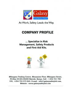 About (Us) Galaxy Safety. Our Mission. Our Vision
