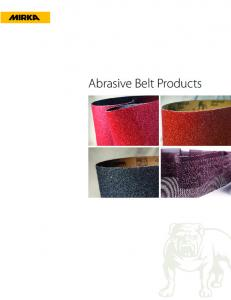 Abrasive Belt Products