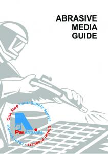 Abrasive Media Guide. Index. Page. Index