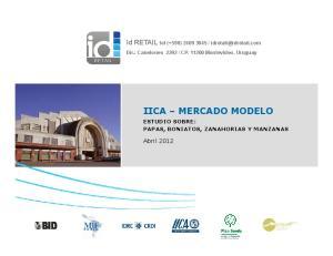 Abril 2012 ESTUDIO SOBRE: PAPAS, BONIATOS, ZANAHORIAS Y MANZANAS