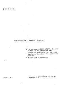 Abril DE INFORMACION BOLETIN nq 200 II