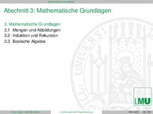 Abschnitt 3: Mathematische Grundlagen