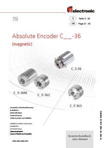 Absolute Encoder C -36