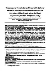 Abstract. Iranian Journal of Ophthalmology 2013;25(1): by the Iranian Society of Ophthalmology