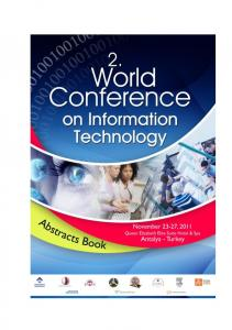 ABSTRACTS BOOK. WCIT ND WORLD CONFERENCE ON INFORMATION TECHNOLOGY
