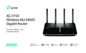 AC 3150 Wireless MU-MIMO Gigabit Router