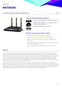 AC1900 Dual-Band Gigabit WLAN Router