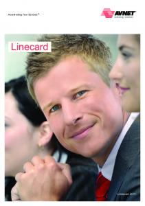 Accelerating Your Success. Linecard