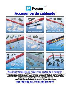 Accesorios de cableado