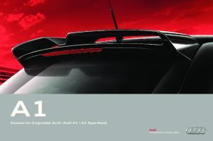Accesorios Originales Audi: Audi A1 A1 Sportback. Accesorios Originales