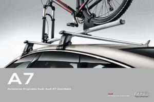 Accesorios Originales Audi: Audi A7 Sportback. Accesorios Originales