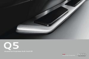 Accesorios Originales Audi: Audi Q5. Accesorios Originales