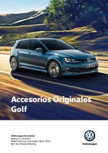 Accesorios Originales Golf