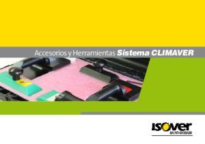 Accesorios y Herramientas Sistema CLIMAVER