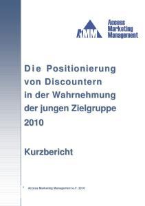 Access Marketing Management e.v Access Marketing Management e.v