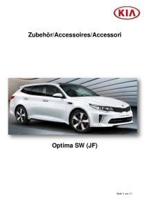Accessori Optima SW (JF)