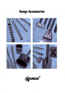 Accessories for Kango Hammers