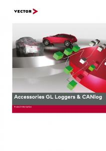 Accessories GL Loggers & CANlog