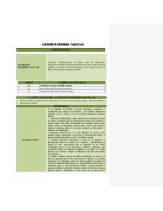 ACCIDENTE CEREBRO VASCULAR DEFINICIONES