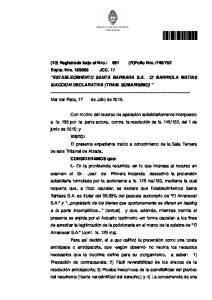 ACCION DECLARATIVA (TRAM. SUMARISIMO)