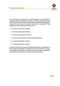Acciones de fortalecimiento de las estructuras organizativas