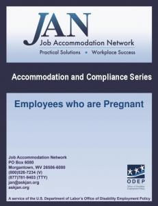 Accommodation and Compliance Series Employees who are Pregnant