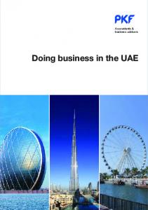 Accountants & business advisers. Doing business in the UAE